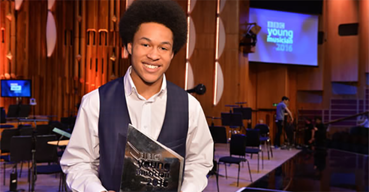 ABRSM Junior Scholar performs at the BAFTAs